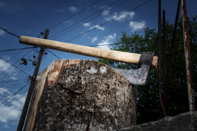 Jedna na dan, 13. avgust 2012: Sekirče u Lukovskoj banji