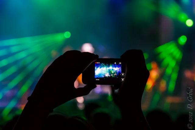 Jedna na dan, 30. avgust 2012: Slika slike koncerta