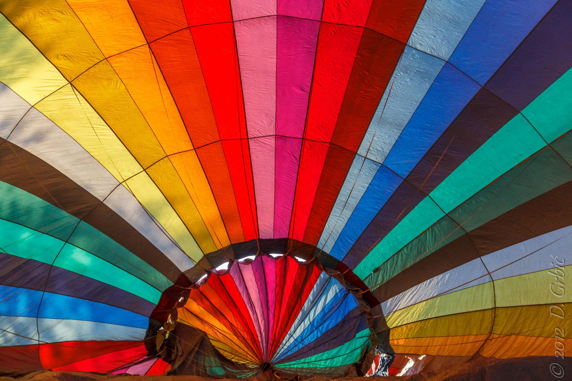 Jedna na dan, 10. septembar 2012: unutrašnjost balona