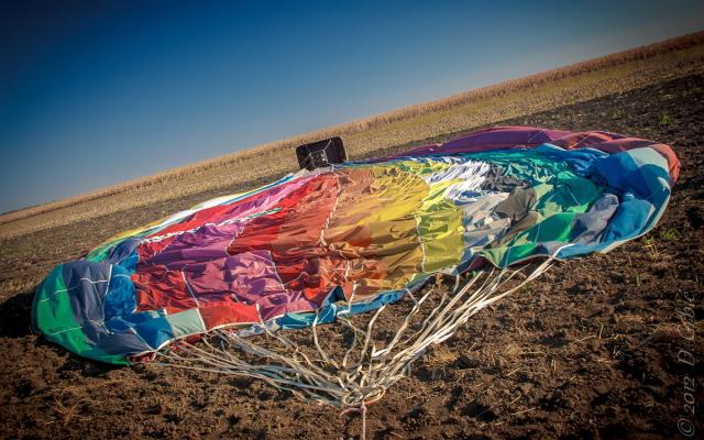 Jedna na dan, 11. septembar 2012: balon, ukroćen posle leta...