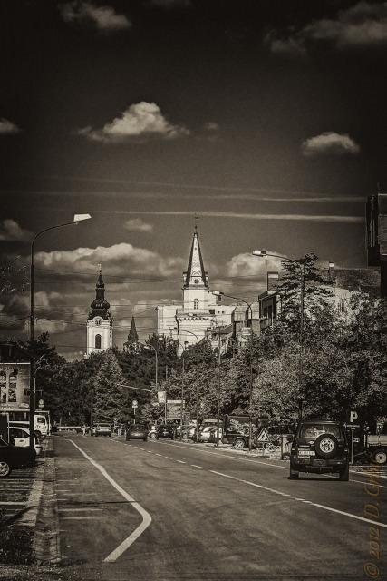 Jedna na dan, 22. septembar 2012: centar Kikinde, sepija