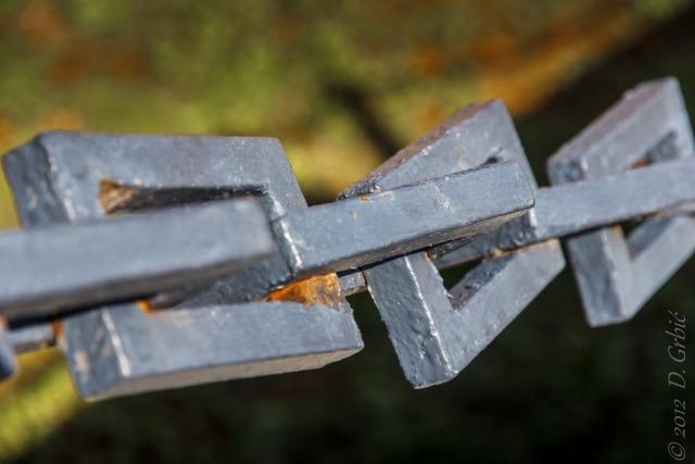Jedna na dan, 24. septembar 2012: Lanac na mostu na Kalemegdanu