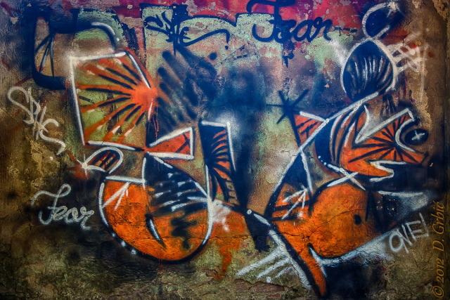 Jedna na dan, 9. oktobar 2012: Grafit u velikom parku