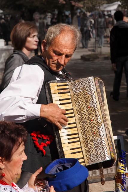 Jedna na dan, 15. oktobar 2012: Harmonikaš sa starim instrumentom