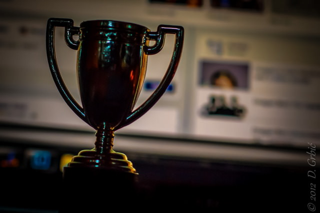 Jedna na dan, 5, novembar 2012: trofej!