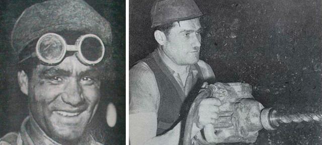 Levo: Arif Heralić, livac iz Zenice. Desno: Alija Sirotanović, rudar iz Breze.