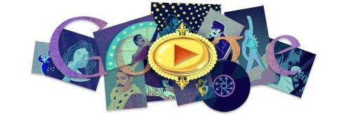 Google obeležava 65. rođendan Fredija Merkjurija