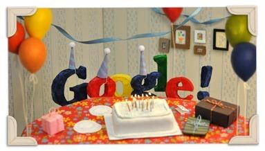13. rođendan kompanije Google