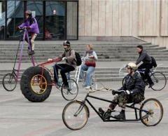 Bicikl, nepojmljiva sprava...