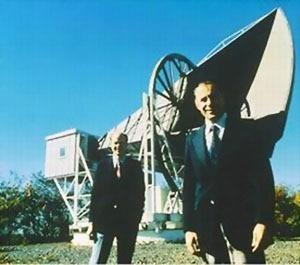 Penzias i Wilson su imali izvesnih problema sa porodicom golubova koja se naselila u njihovoj anteni...