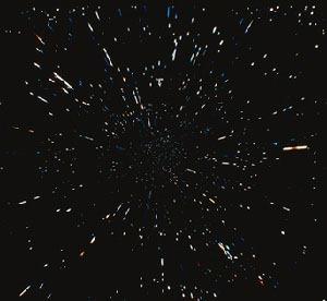 Galaksije se udaljavaju od nas, utoliko brže što su udaljenije.