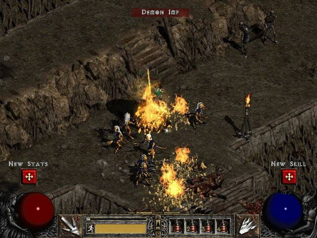 Impovi se upoznaju sa čarolijom Inferno: Diablo 2