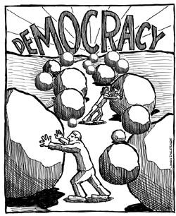 Demokratija, ali stvarno