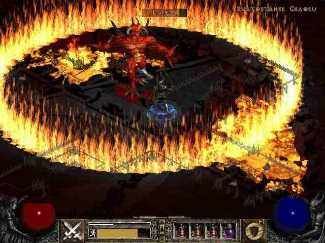 Diablo i čarolija Fire Ring u razmeri 1:1