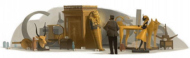 Google u slavu Hauarda Kartera (1874 - 1939)