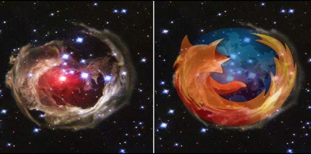 Firefox galaksija!