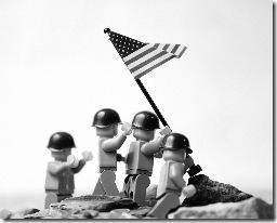 iwo jima flag raising lego