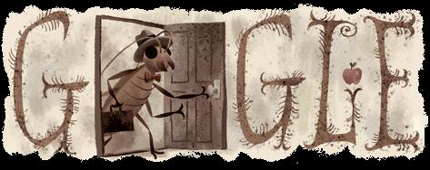 """Google doodle u slavu Franca Kafke (1883-1924): parafraza novele """"Preobražaj"""""""