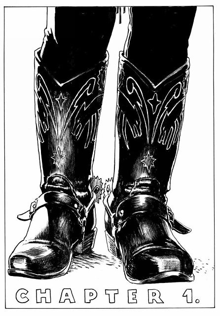 Texas Kid, My Bro - besplatni strip Igora Kordeja