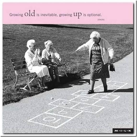 Starenje je neizbežno, odrastanje je stvar izbora.