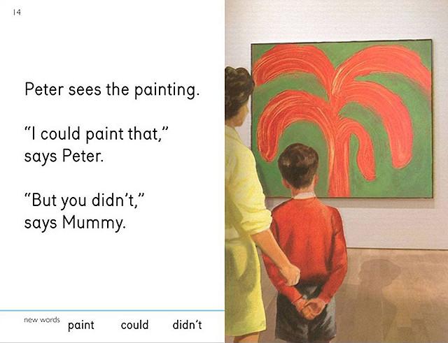 I ja sam mogao to da nacrtam, kaže Petar. Ali nisi, kaže mama.