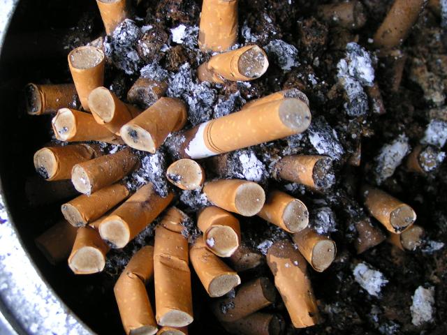 кад у стану који плаћате не смете да пушите, на тераси имате овакву пепељугу.