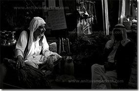 Anita Van Der Krol - Famous tabacco seller in the souq of Dubai