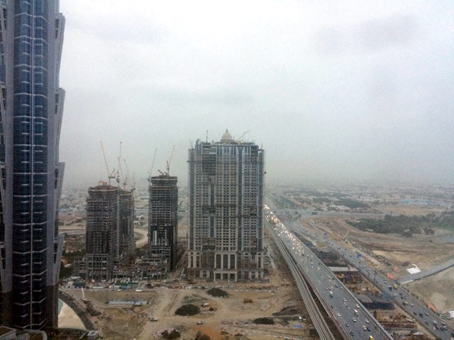 Kiša u Dubaiju...