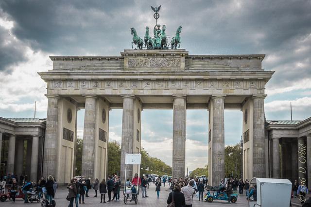 Brandenburška kapja, Berlin