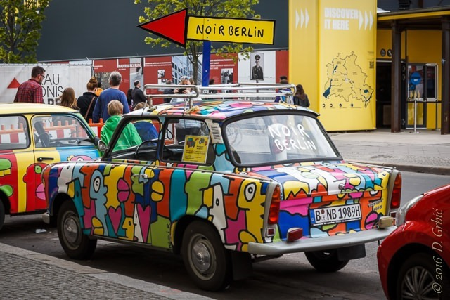 Trabant, Berlin 2016