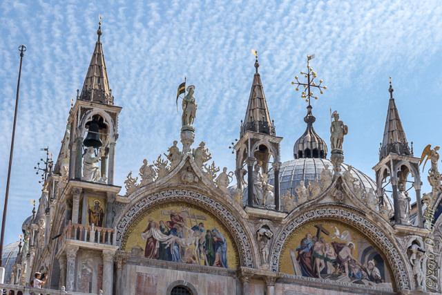 Detalj sa pročelja bazilike Svetog Marka u Veneciji