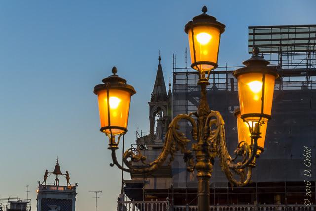 Plavi sat u Veneciji