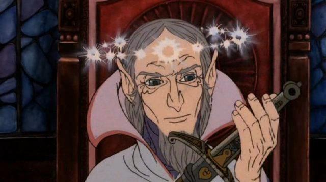 Ovo je Glamdring, Malj za neprijatelja. Njega je u davnini nosio kralj Gondolina.