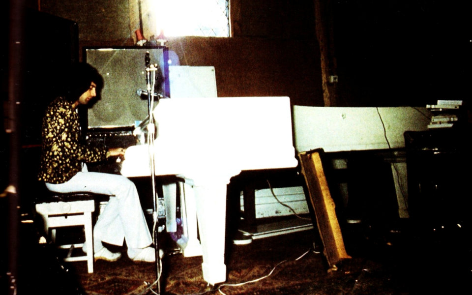 Freddie Mercury u studiju, 1975.