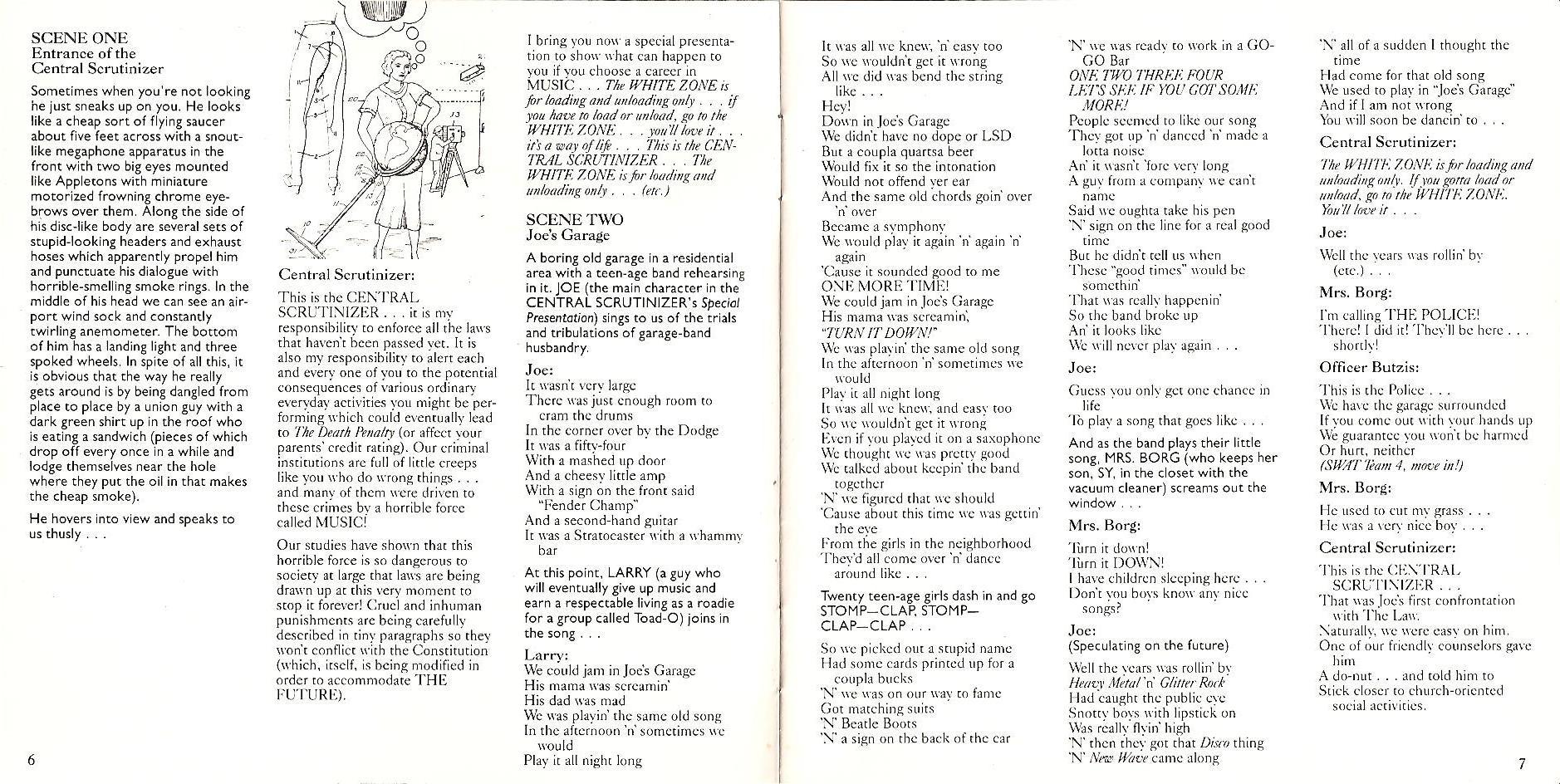 Libreto današnje pesme