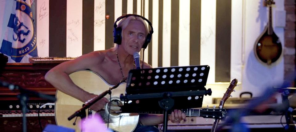 Paul Weller u studiju, leto 2018.