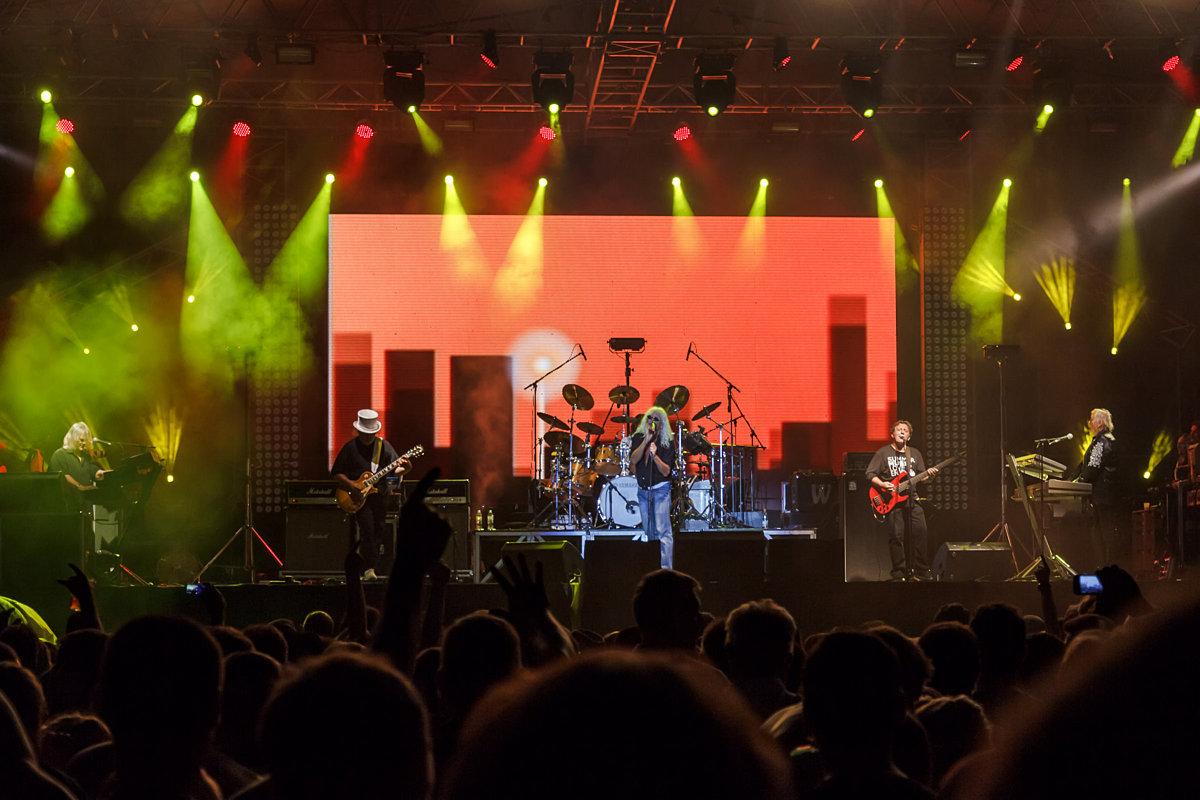 Omega, prvih pedeset godina... Koncert u Novom Bečeju, 28. avgusta 2012.