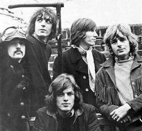 Pink Floyd kao petorka, januar 1968.