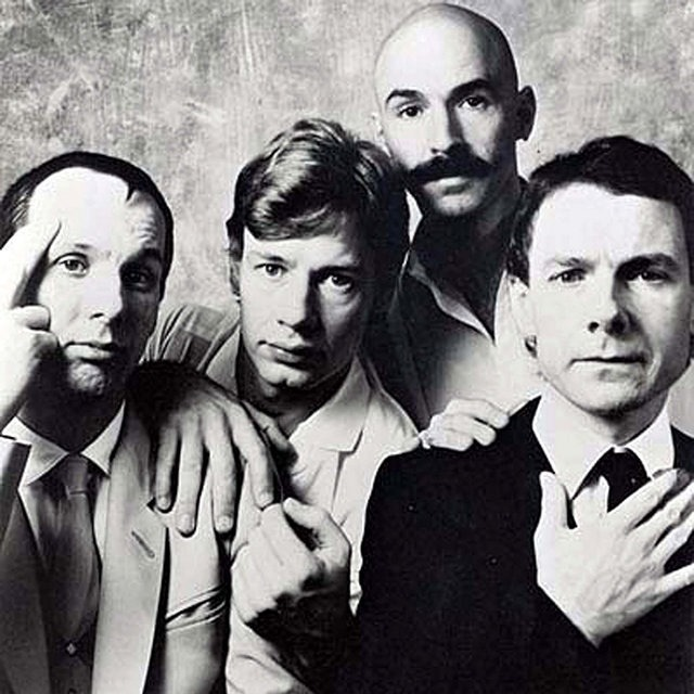 King Crimson, otprilike u vreme snimanja albuma Beat (1982)