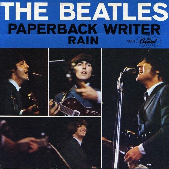 The Beatles - Rain/Paperback Writer (singl, 1966)